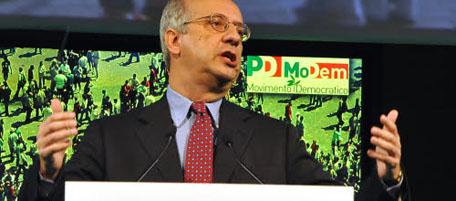 Congresso modem al lingotto di Torino convocato da valter veltroni
