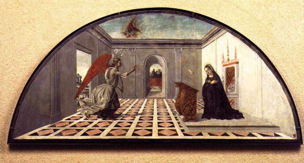 Bartolomeo della Gatta, Annunciazione, Musée du Petit Palais, Avignone