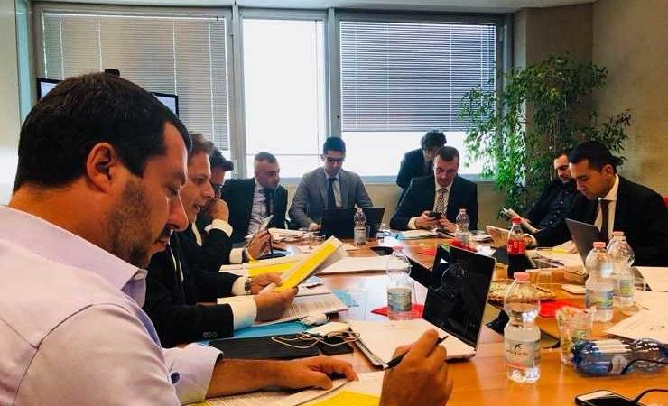 Lega e M5S al tavolo della trattativa di Governo
