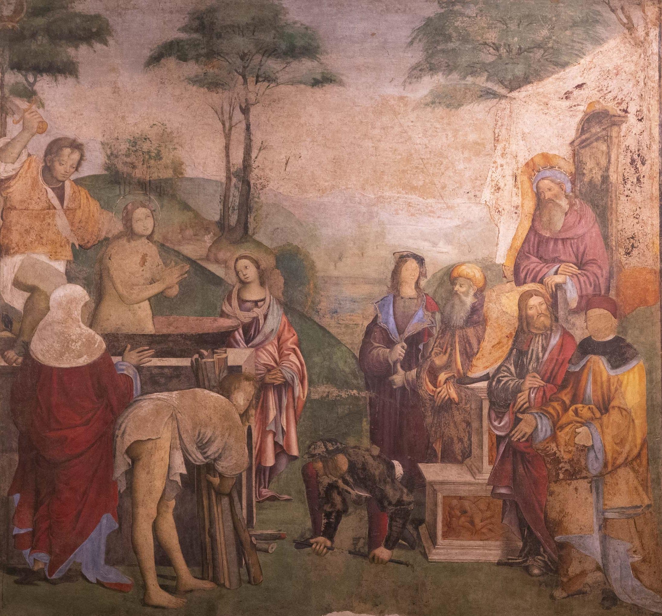 Amico Aspertini e altri, Martirio di Santa Cecilia, 1505-1506, Oratorio di Santa Cecilia, Bologna