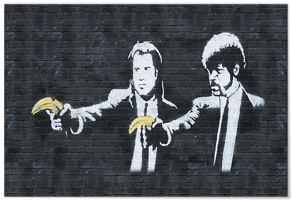 Banksy, Pulp Fiction, 2002