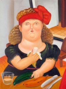 Fernando Botero, Mangiatrice di banane