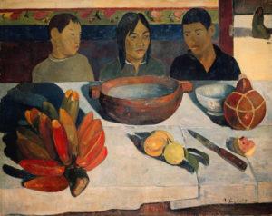 Paul Gauguin, Il Pasto, 1891, Musée d'Orsay, Parigi