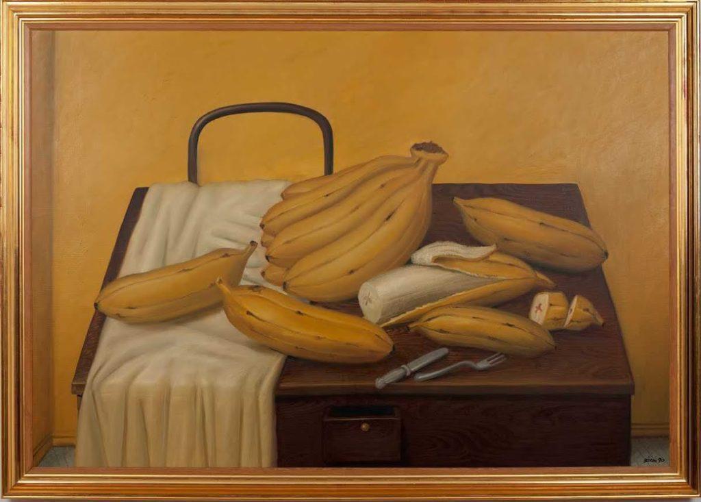 Fernando Botero, Banane, 1990