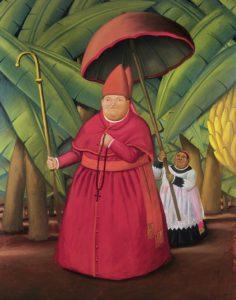 Fernando Botero, Il Nunzio, 2004