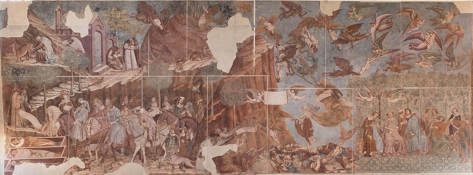 Buonamico Buffalmacco, Trionfo della morte, 1336-1341, Camposanto, Pisa