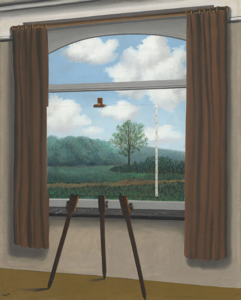 René Magritte, La condizione umana I, 1933, National Gallery of Art, Washington