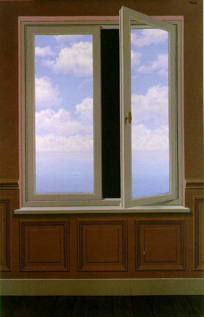 René Magritte, Il Telescopio, 1963, Menil Collection, Houston