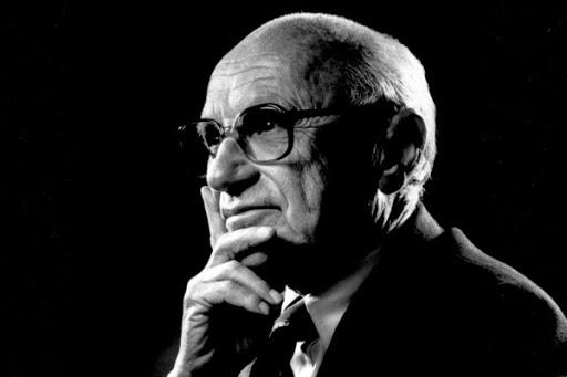 Milton Friedman, fondatore della Scuola di Chicago   (giustizia sociale ambientalismo)