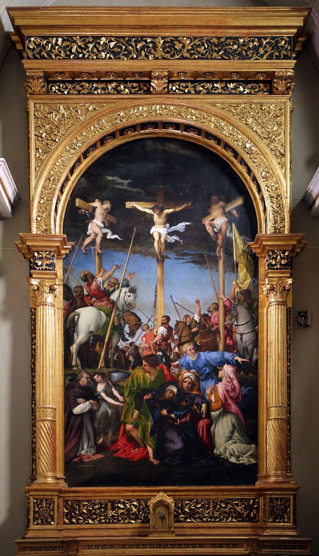 Crocifissione - Lorenzo Lotto