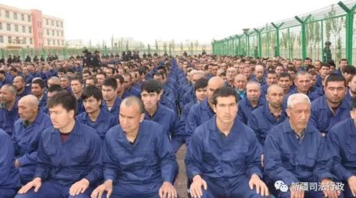 Uiguri imprigionati
