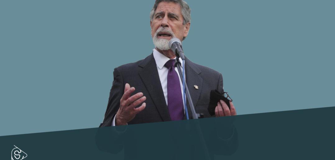 Francisco Sagasti nuovo presidente del Perù. Credits: Sistema Critico