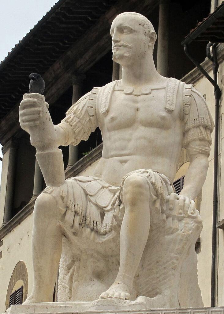 Baccio Bandinelli, statua di Giovanni delle Bande Nere