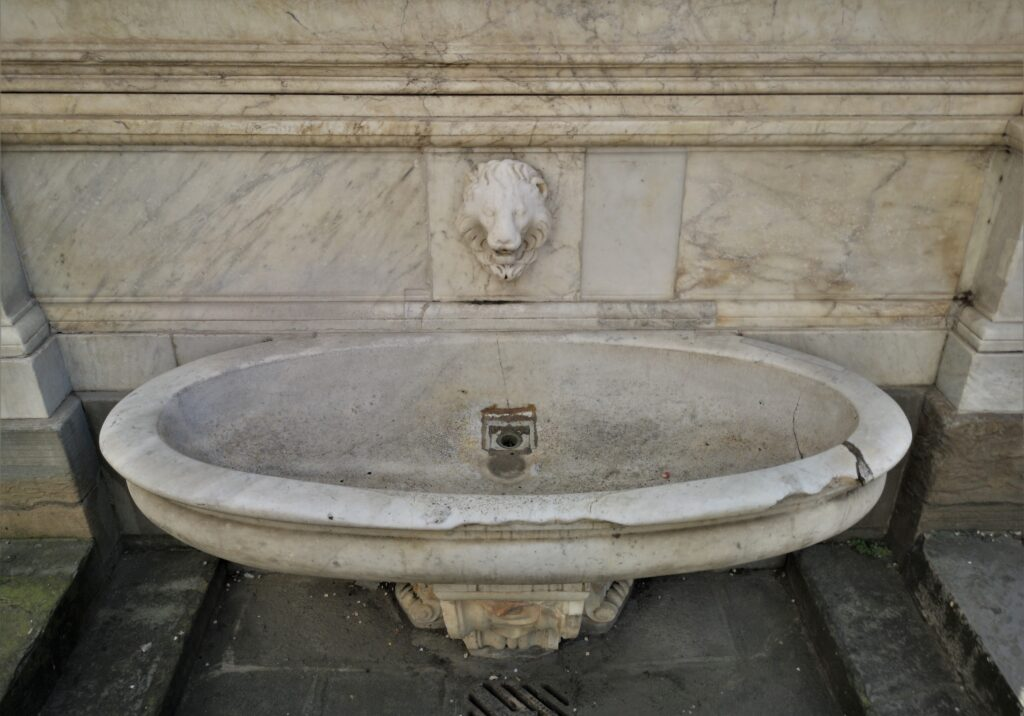 Giuseppe del Rosso, Fontana