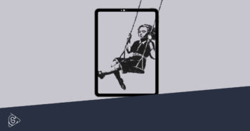 Bambina sull'altalena (Banksy)