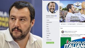 account Facebook Matteo Salvini