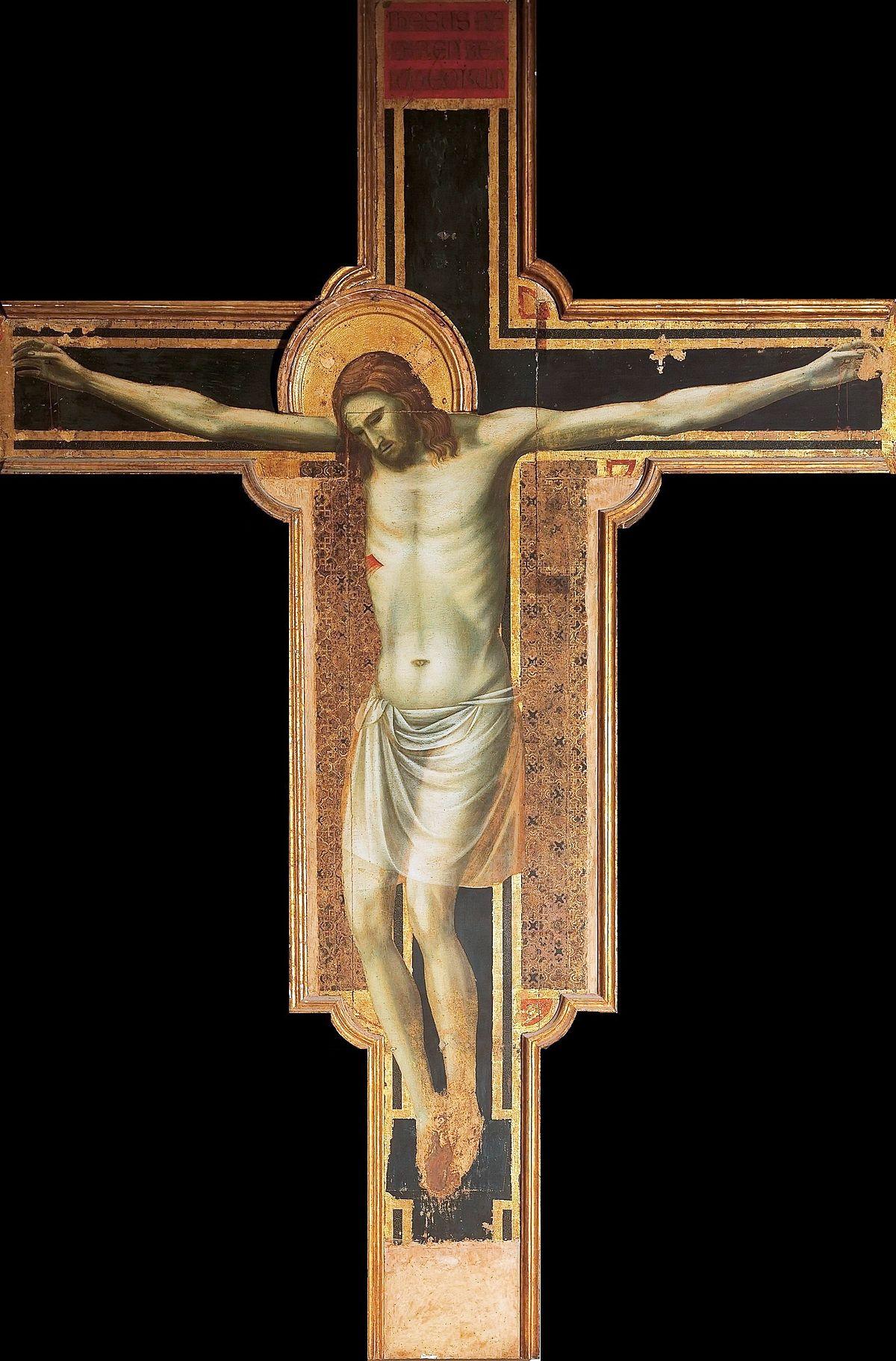 Giotto di Bondone, Crocifisso, 1299-1300, Tempo Malatestiano (già Chiesa di San Francesco), Rimini