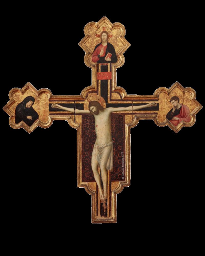 Giovanni da Rimini, Croce Diotalevi, 1305 ca., (forse da Sant'Agostino), Museo della Città, Rimini