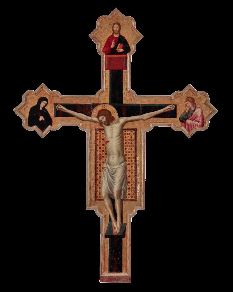 Giovanni da Rimini, Crocifisso, 1309 o 1314, Chiesa di San Francesco, Mercatello sul Metauro